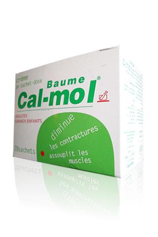 CAL-MOL Baume en boite de 14 et 28 sachets