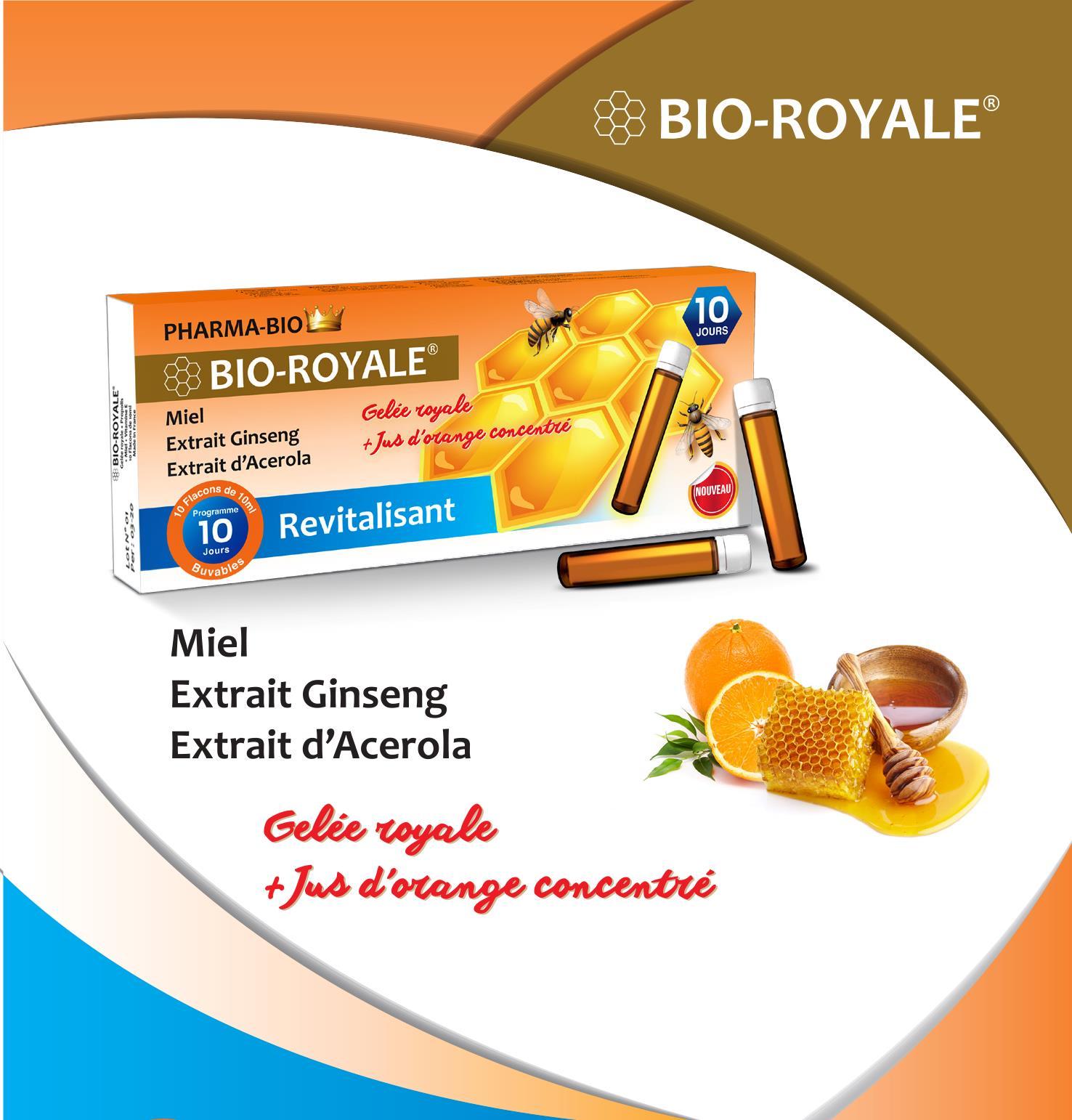 BIO-ROYALE Gelée royale + propolis