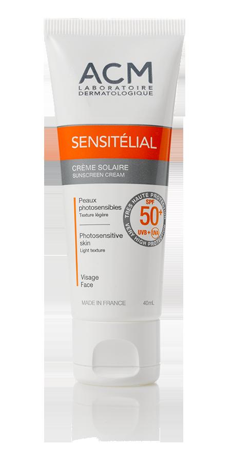 SENSITELIAL ECRAN SOLAIRE Crème SPF 50+